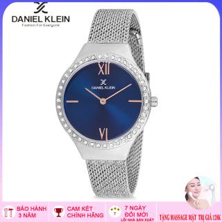Đồng hồ Nữ Daniel Klein DK12075 Full box, thẻ BH- kính Mineral, chống nước Bảo hành 3 năm thumbnail
