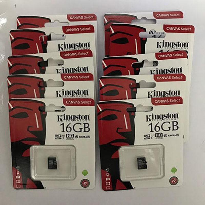 Thẻ nhớ micro SD kingston 16GB class 10 tem FTT/Vĩnh xuân(1)