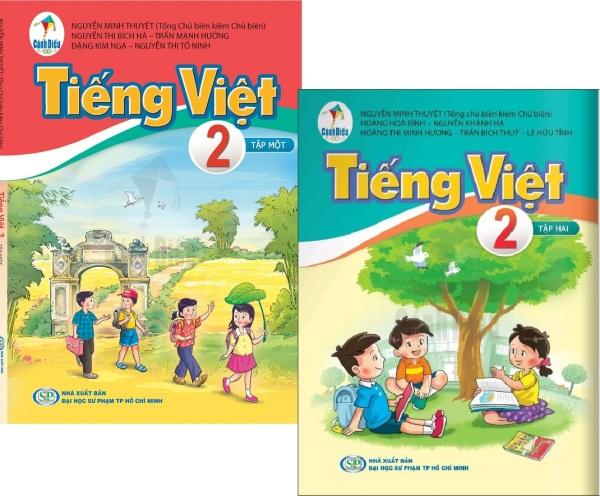 Combo Sách Tiếng Việt Lớp 2 (Tập 1 + Tập 2) - Bộ Sách Cánh Diều