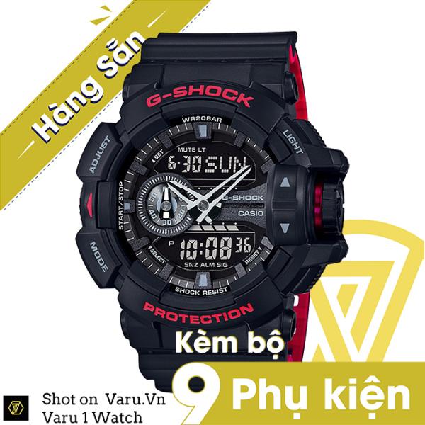 [Cao Cấp] Đồng hồ thể thao nam nữ G-Shock GA-400HR-1A Full phụ kiện bán chạy