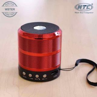 [HCM]Loa Bluetooth Wster WS-887 hỗ trợ USB thẻ nhớ FM AUX (Nâu đỏ) - Nhất Tín Computer thumbnail
