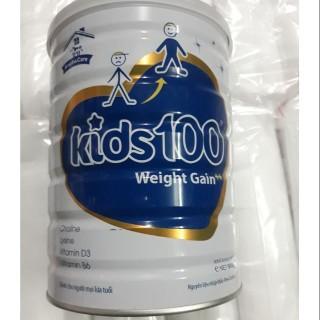 Sữa bột Kids100 đủ loại Pedia IQ Canxi Gain 900g date mới thumbnail