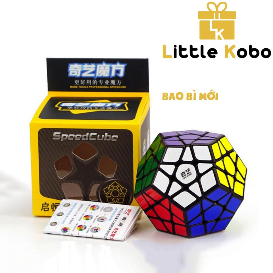 [HCM]Rubik Megaminx Qiyi Rubik 12 Mặt Khối Lập Phương Rubik