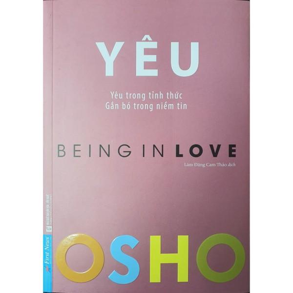 Sách Osho Yêu - Being In Love
