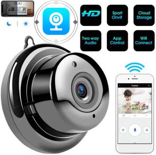 [Nhập ELJUN21 giảm 10% tối đa 200k đơn từ 99k][VOUCHER 8% tối đa 800k cho đơn từ 150k]Camera IP WIFI V380 Pro - Nhỏ gọn phù hợp với mọi nhà thumbnail