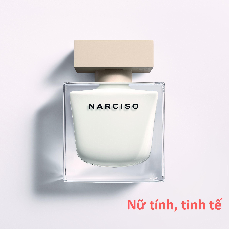 Nước hoa Narciso For Women [Trắng] 90ml Eau De Parfum tốt nhất