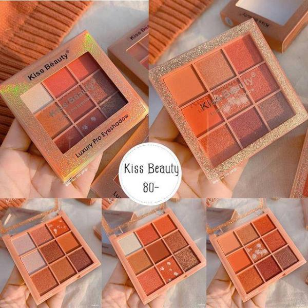 Phấn mắt Kiss Beauty Luxury Pro Eyeshadow 9 ô vuông giá rẻ