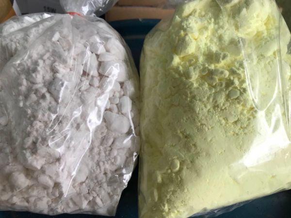 COMBO 2kg Phân bón KClO3 VS 1kg LƯU HUỲNH Xay Mịn tinh khiết 99,9%