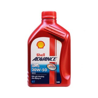 Nhớt xe số SHELL ADVANCE AX3 20W50 800ml thumbnail