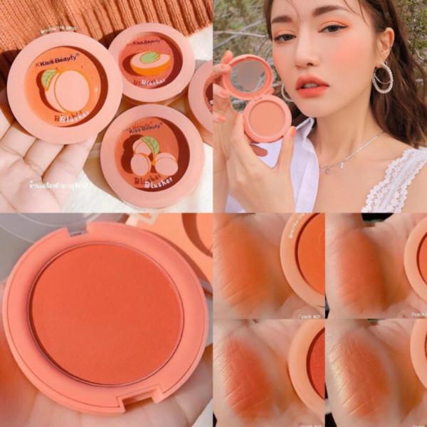 Má hồng trái đào tone cam thái kiss beauty Cực Xinh