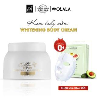 Kem body trắng da A Cosmetics dưỡng ẩm kích trắng toàn thân thấm nhanh da mềm mịn tái tạo da tổn thương thâm sạm rám nắng WOLALA-ABD250 thumbnail
