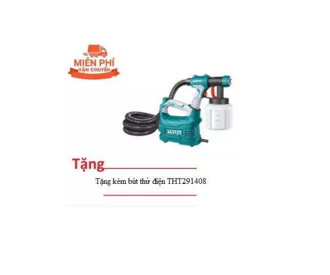 500W MÁY PHUN SƠN DÙNG ĐIỆN TOTAL TT5006  (Tặng bút thử điện Total THT291408)