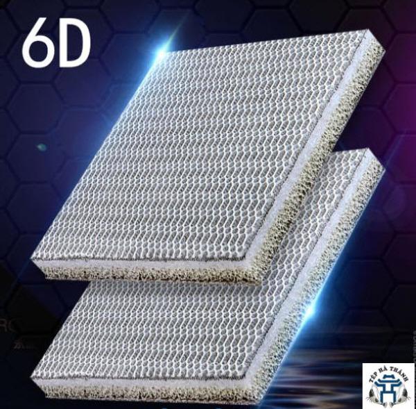 Bông Lọc 6D Thế Hệ Mới Size 50x12x2 cm - Vật Liệu Lọc Cao Cấp Cho Bể Cá Cảnh