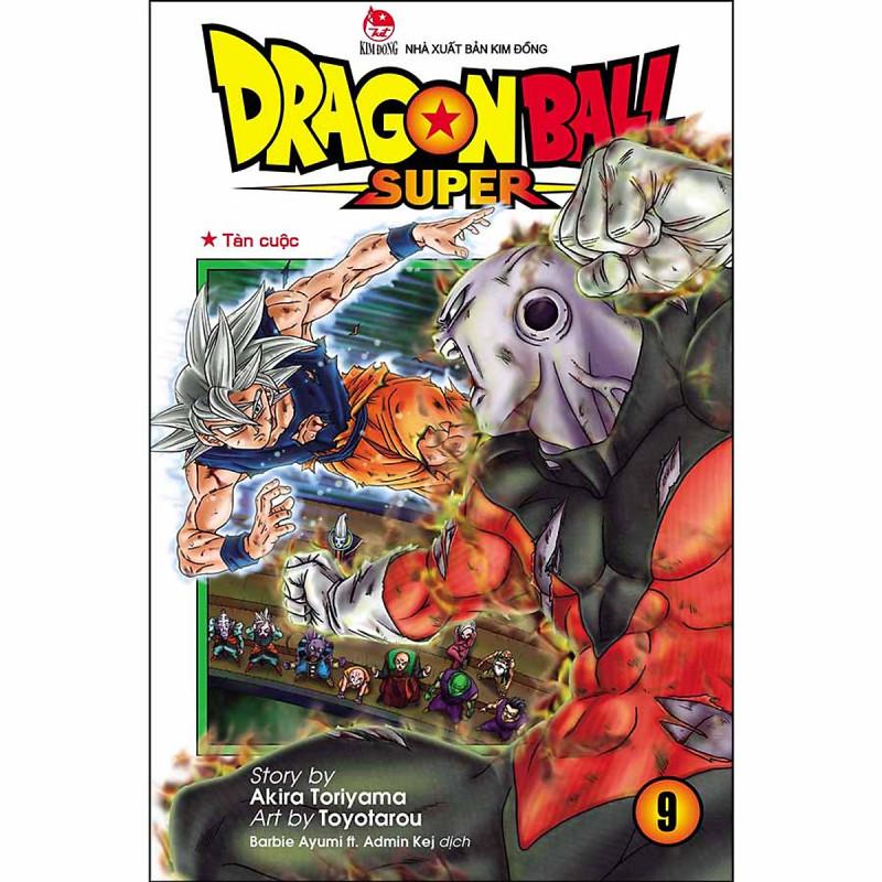 Mua Dragon Ball Super Tập 9: Tàn Cuộc