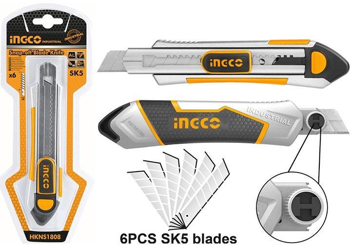 100x18mm Dụng cụ rọc giấy INGCO HKNS1808