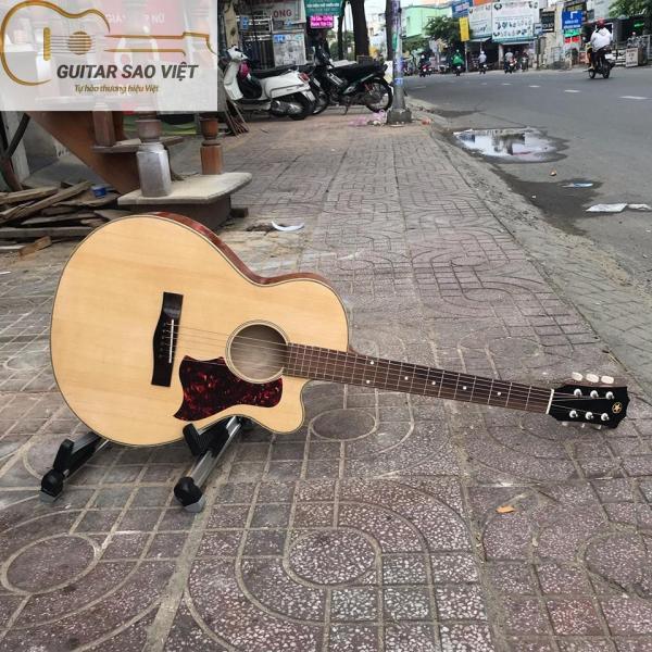 Đàn Guitar có ty chống cong cần Việt Nam giá bán tại xưởng bảo hành kẻ cả bể vỡ