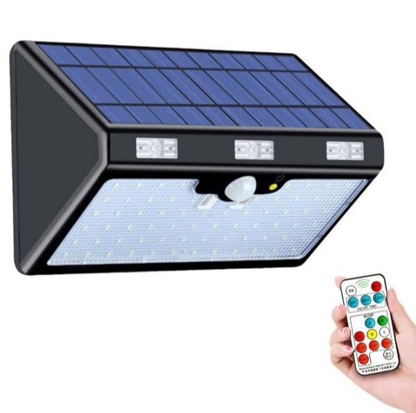 Đèn năng lượng mặt trời Solar Light 06 chế độ hoạt động, pin lithium-iron phosphate sắt 13000mA - Bảo hành 01 năm