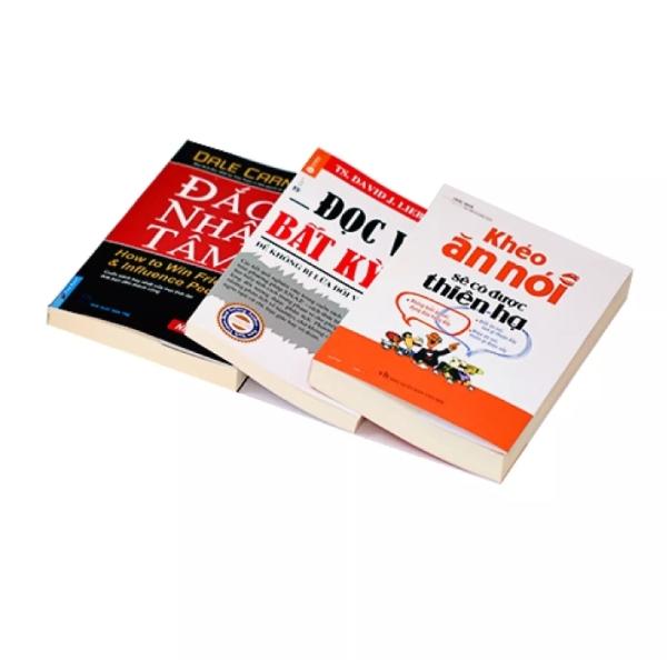 Combo 3q: Đắc Nhân Tâm + Đọc vị bất kỳ ai + Khéo Ăn nói sẽ có được thiên hạ