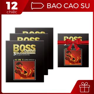 [XẢ KHO CUỐI NĂM]Combo mua 3 hộp Boss 4in1-3 chiếc Tặng 1 hộp boss 3 chiếc cùng loại [HOT] - 1 set - BigBull Shop thumbnail