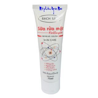 Sữa rửa mặt cho da dầu mụn trắng da - Ngừa mụn - Xóa thâm - Chống nắng tinh chất Collagen Bạch Sâm (75ml) thumbnail