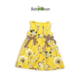 Đầm Lụa Thắt Nơ Eo xinh xắn & dễ thương bé gái BabyBean (8kg - 20kg) thumbnail