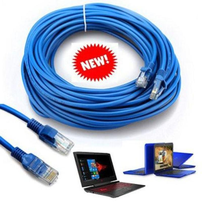 Bảng giá Cáp mạng internet/mạng LAN Cat 5E 10m, 2 đầu bấm sẵn ,Dây Mạng Lan 10 MÉT Đúc Sẵn 2 Đầu Hạt Mạng , Phong Vũ