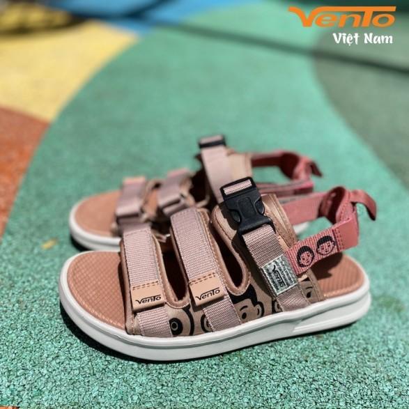 Giày sandal nữ Vento NB80 mầu hồng nhạt giá rẻ