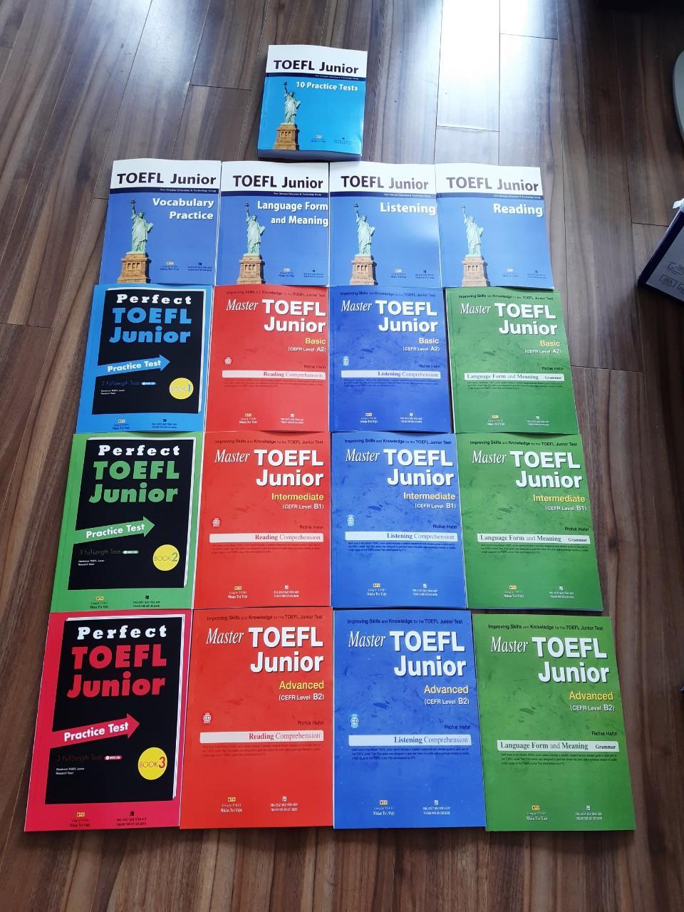 Giá Quá Tốt Để Có TOEFL Junior ( Bộ 17 Cuốn)