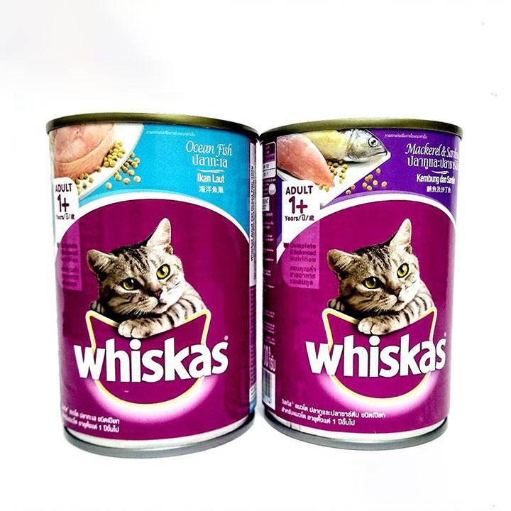 Pate Lon Whiskas Adult 400g Thức ăn Cho Mèo Khuyến Mại Hot