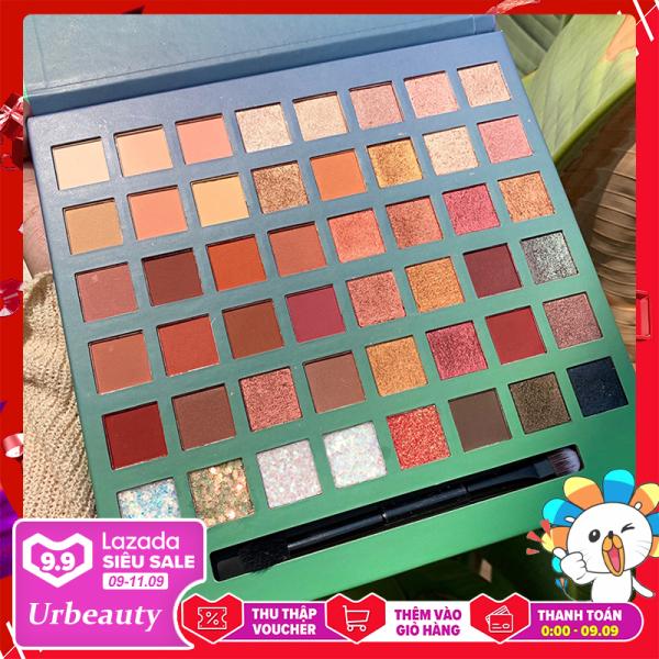 【Urbeauty】Bảng phấn mắt  48 màu thời thượng phấn mắt nội địa Trung bảng màu mắt giá rẻ