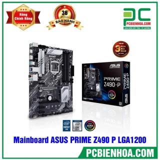Mainboard ASUS PRIME Z490 P ( LGA1200 ATX 4xDDR4 ) thumbnail