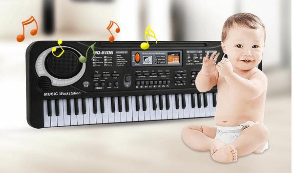 Đàn piano điện tử 61 phím cho bé yêu