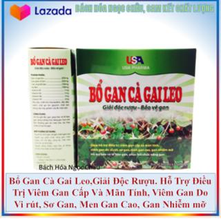 Bổ Gan Cà Gai Leo, Giải Độc Gan, Hạ men gan - Hộp 60 viên, dùng cho người từ 6 tuổi trở lên thumbnail