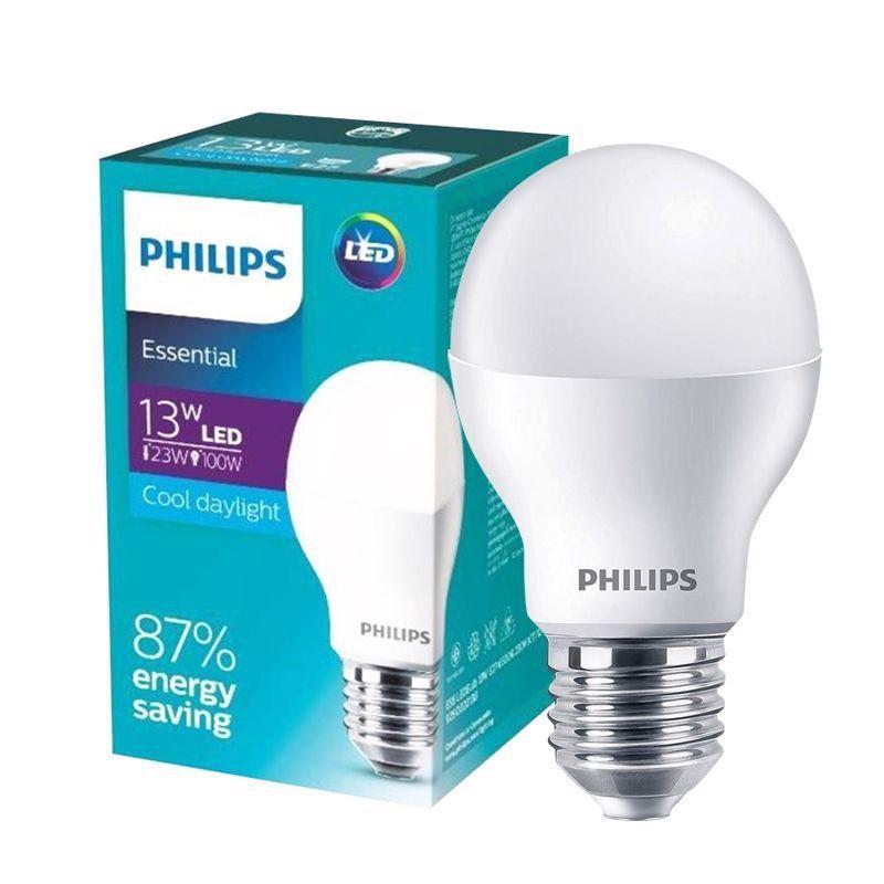 Bóng đèn PHILIPS Essential LED Bulb E27 A60- Tiết kiệm điện, chất lượng sáng cao