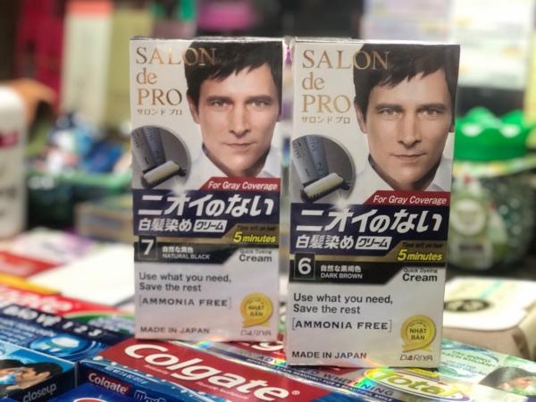 Thuốc nhuộm tóc Salon De Pro nam