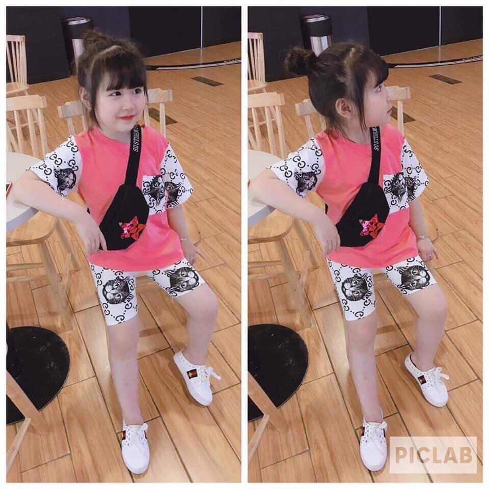 bộ đồ cho bé dễ thương chất cotton cực mát Nhật Bản