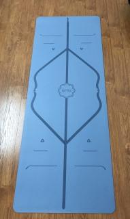 Thảm tập yoga cao cấp Hatha định tuyến Tặng kèm túi chuyên dụng thumbnail