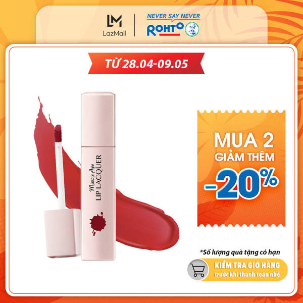 Son kem lì Miracle Apo Lip Lacquer Matte Holiday Collection Energy 3ml (Đỏ Ruby)