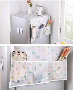 Khăn Vải Phủ Tủ Lạnh Nilon Trong Suốt Chống Nước Bảo Vệ Tủ Lạnh
