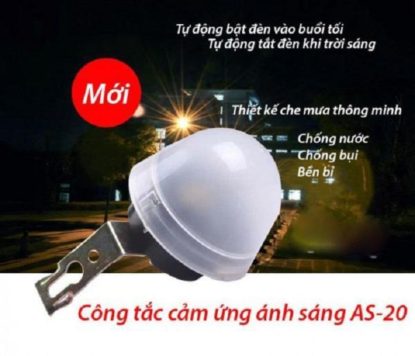 Công tắc cảm biến ánh sáng AS-20