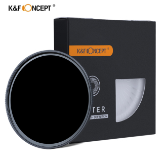 K&F Concept 37 40.5 43 46 49 52 55 62 67 72 77 82 86 95mm 10 Stop ND 1000 Filter HD 18 Layer Super Slim Multi-Coated Glass Neutral Grey ND Lens Filter Neutral Density Filter Nano-X MRC Series Filter for Camera Lens thumbnail