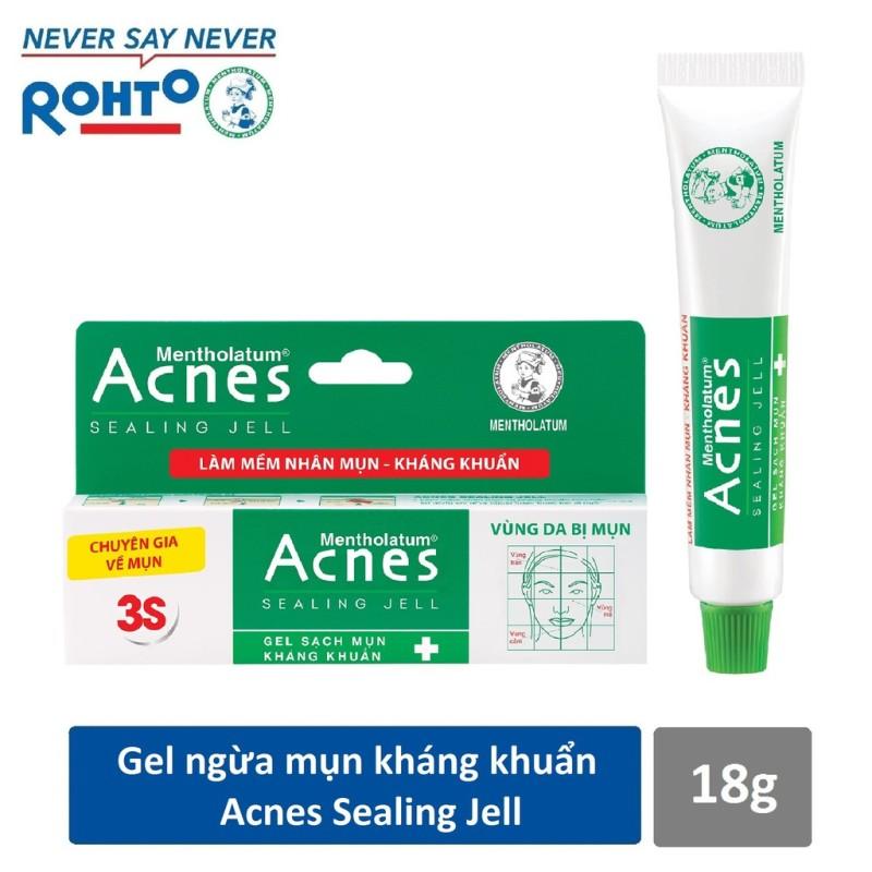 Combo 01 Gel sạch mụn kháng khuẩn Acnes Sealing Jell 18g+ 01 lược tóc