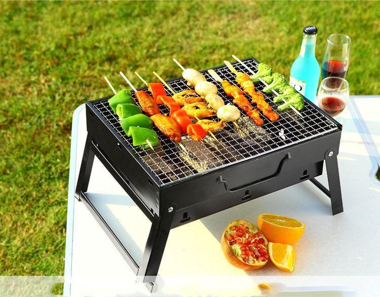 Bếp nướng than hoa BBQ gấp gọn Green Forest LG-2701 loại tốt