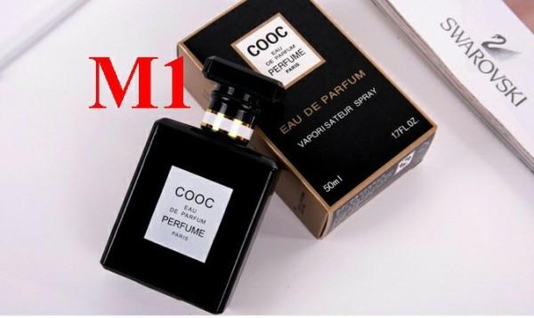 Nước Hoa COOC EAU DE PERFUME 50 ml, hương dễ chịu lưu hương 12 tiếng [video sản phẩm thật]