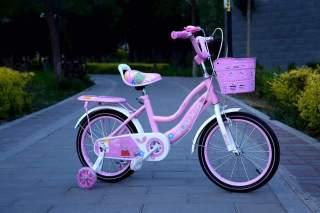 [Rẻ vô địch] Xe đạp cỡ 18 inh loại 2 khung - cho bé gái 6-9tuổi thumbnail