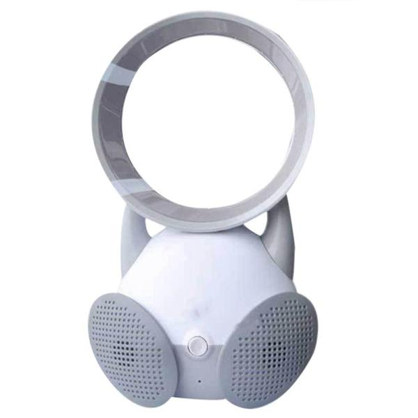 Cooling Fan Desk Fan Portable Fan, Safe Quiet Table Fan Portable Durable Lightweight For Home Bedroom Baby-Room Office Outdoor (Gray)