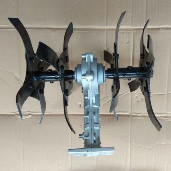 Đầu xới đất lắp máy cắt cỏ - Lồng cong, trục 26, 9 khía