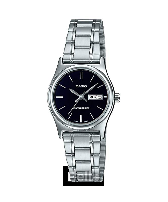 Đồng hồ Casio Nữ LTP-V006D-1B2 bảo hành chính hãng 1 năm - Pin trọn đời
