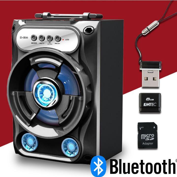 [SALE 50% CHỈ HÔM NAY ] Loa Bluetooth Xách Tay Âm Thanh To Hay Chuẩn có đèn led đẹp - Loa Bluetooth mini chất lượng ,giá rẻ