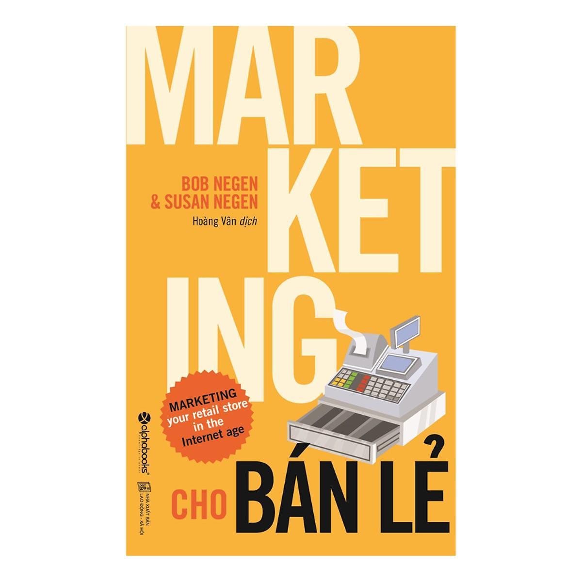 Sách - Marketing Cho Bán Lẻ Cùng Giá Khuyến Mãi Hot